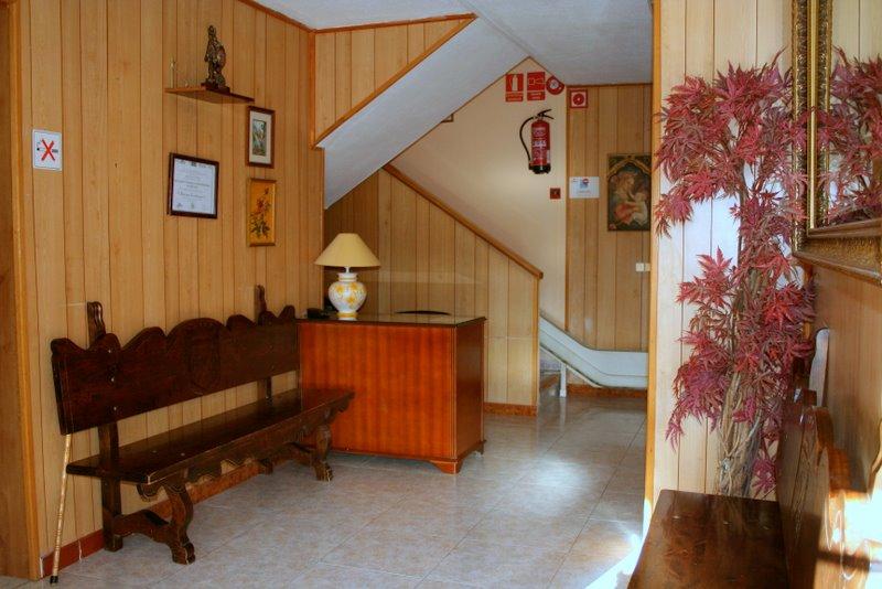 recepción Residencia Acacias