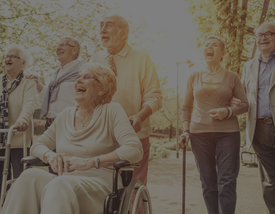 abuelos geriátrico Residencia